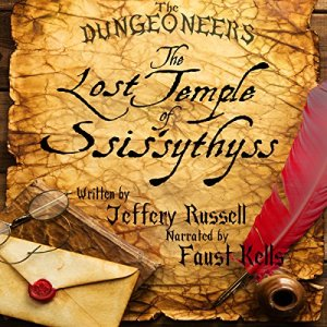 The Lost Temple of Ssis'sythyss audiobook cover art
