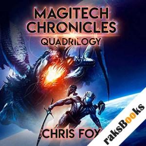 The Magitech Chronicles Quadrilogy audiobook cover art
