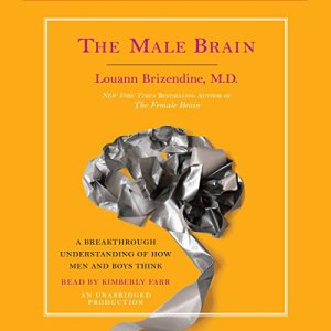 The Male Brain audiobook cover art