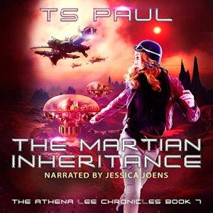 The Martian Inheritance audiobook cover art