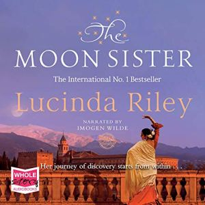 The Moon Sister audiobook cover art