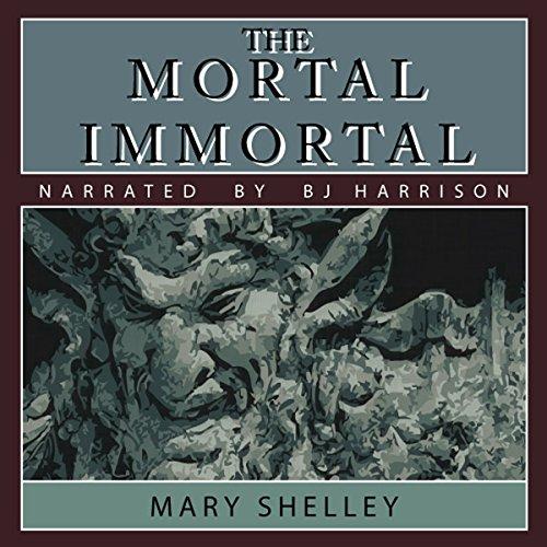 The Mortal Immortal audiobook cover art
