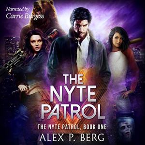 The Nyte Patrol audiobook cover art