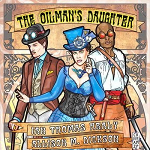 The Oilman's Daughter audiobook cover art