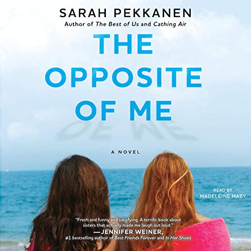 The Opposite of Me audiobook cover art