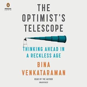The Optimist's Telescope audiobook cover art