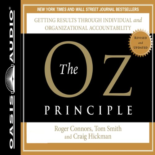 The Oz Principle audiobook cover art