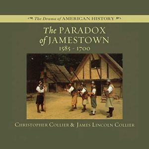 The Paradox of Jamestown audiobook cover art