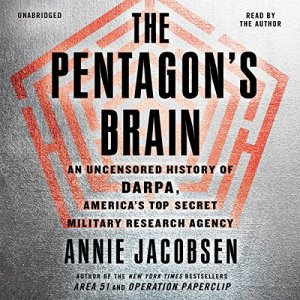 The Pentagon's Brain audiobook cover art