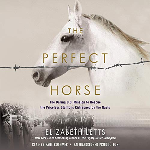 The Perfect Horse audiobook cover art