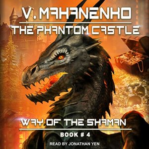 The Phantom Castle audiobook cover art