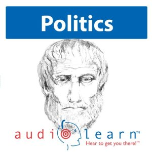 'The Politics' by Aristotle AudioLearn Study Guide audiobook cover art