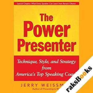 The Power Presenter audiobook cover art