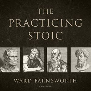 The Practicing Stoic audiobook cover art