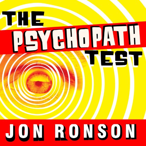 The Psychopath Test audiobook cover art