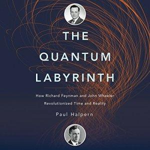The Quantum Labyrinth audiobook cover art