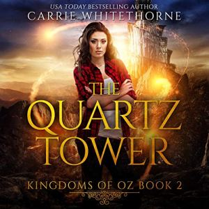 The Quartz Tower audiobook cover art