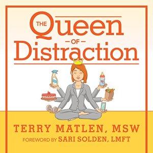 The Queen of Distraction audiobook cover art