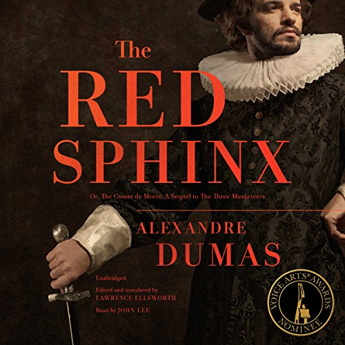 The Red Sphinx audiobook cover art