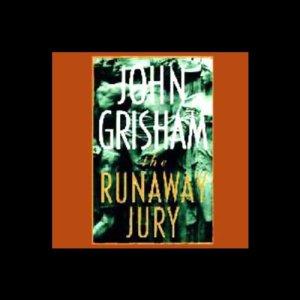 The Runaway Jury audiobook cover art