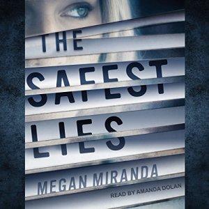 The Safest Lies audiobook cover art