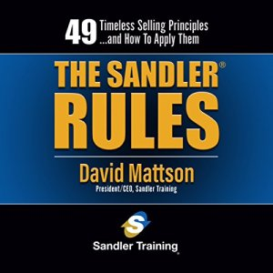 The Sandler Rules audiobook cover art