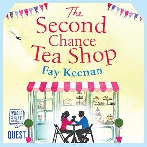The Second Chance Tea Shop audiobook cover art