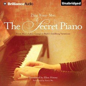 The Secret Piano audiobook cover art