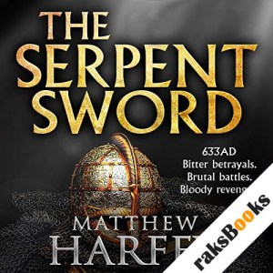 The Serpent Sword audiobook cover art
