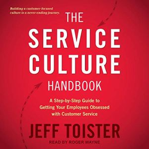 The Service Culture Handbook audiobook cover art