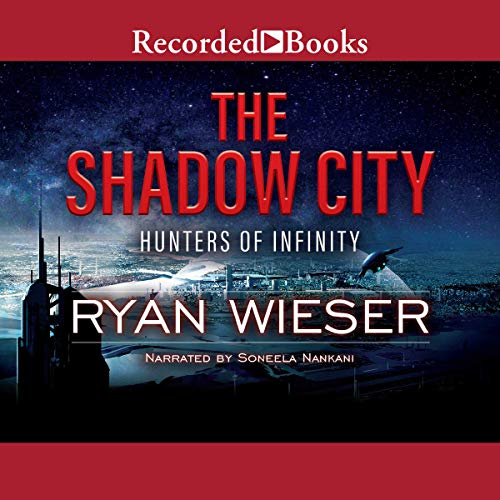 The Shadow City audiobook cover art