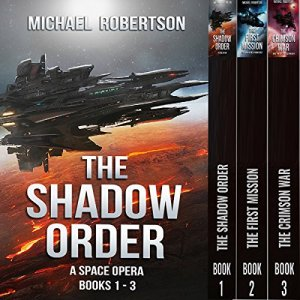 The Shadow Order, Books 1-3 audiobook cover art