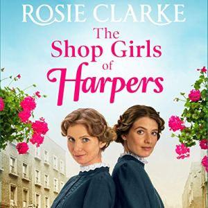 The Shop Girls of Harpers audiobook cover art