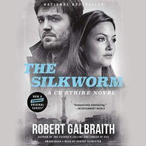The Silkworm audiobook cover art