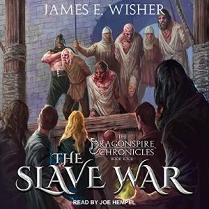 The Slave War audiobook cover art