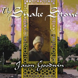 The Snake Stone audiobook cover art