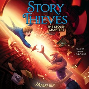 The Stolen Chapters audiobook cover art
