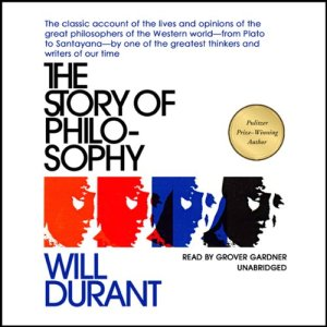 The Story of Philosophy audiobook cover art