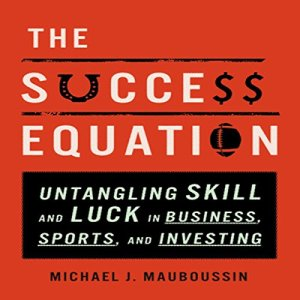 The Success Equation audiobook cover art