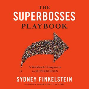 The Superbosses Playbook audiobook cover art