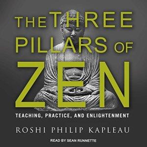The Three Pillars of Zen audiobook cover art