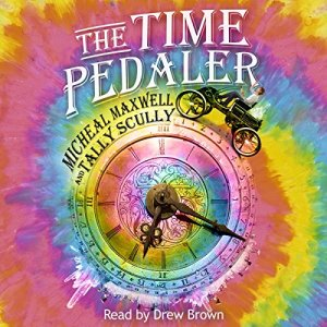 The Time Pedaler audiobook cover art
