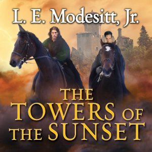 The Towers of the Sunset audiobook cover art