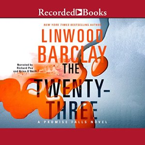 The Twenty-Three audiobook cover art