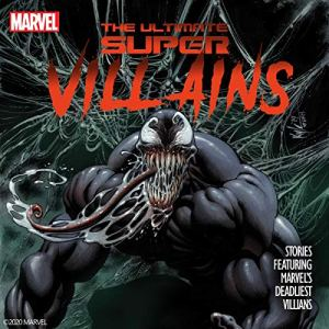 The Ultimate Super Villains audiobook cover art