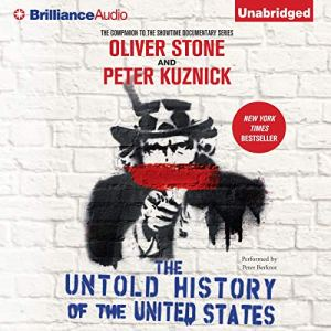 The Untold History of the United States audiobook cover art