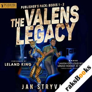 The Valens Legacy: Publisher's Pack 1 audiobook cover art