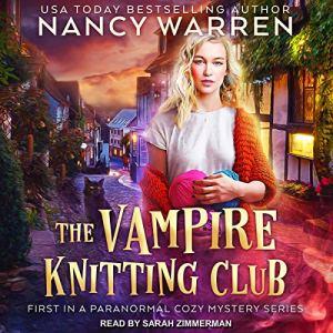 The Vampire Knitting Club audiobook cover art