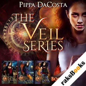 The Veil Series (Books 1-3): A Muse Urban Fantasy audiobook cover art