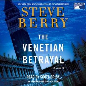 The Venetian Betrayal audiobook cover art
